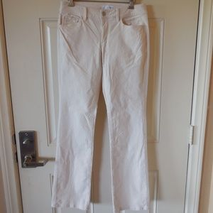 Ann Taylor LOFT Made and Loved Corduroy Pant Ivory
